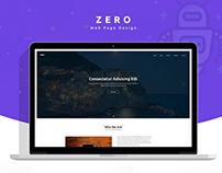 ZERO - Website Design