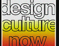 Design Culture Now Posters Design