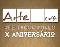 Aniversário Arte Caffé