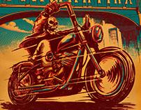 Poster Diamantina Moto Fest