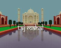 Architecture of India - Taj Mahal.