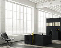 3d visualizations / interior design - bathrooms 2020