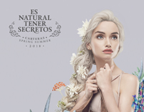 Secret · SS2018 · Es Natural Tener Secretos