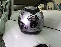Tattoo helmets