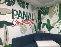 Panal Coworking | Lettering Mural