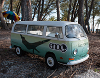 ENO Hammock Vinyl Wrapped VW Bus