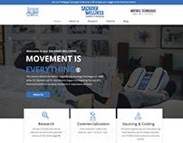 Sackner wellness Website Design