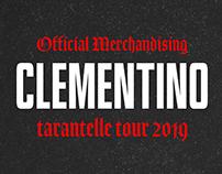 MERCH | Clementino - Tarantelle Tour