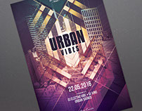 Urban Vibes Flyer
