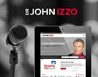 John Izzo - Rebranding + Web Design