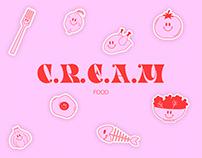 C.R.E.A.M - Branding