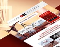 Forum Consult — Landing Page  для юридической компании