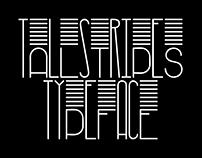 TallStripes typeface