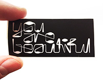 You Are Beautiful Artist Sticker