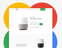 Google Home Device Upcoming Product Design Page
