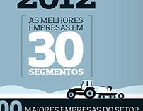 Graphic project - Melhores do agronegócio 2012