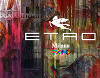 ETRO Celebrating EXPO Milano 2015 Shop Windows