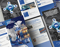 OBNoil Trifold brochure design