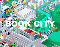BOOK CITY Illustration