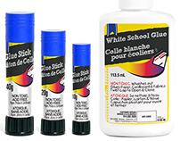Glue Labels Concept