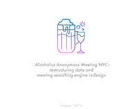 Alcoholics Anonymous Meeting NYC - data restructure