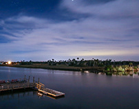 Crystal River Night Photography