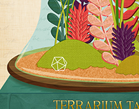 Terrarium Illustration