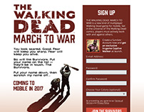 The Walking Dead March to War Signup Page (Version 1)