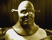 Shrek - prosthetic sculpting
