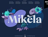 Mikela Display Font