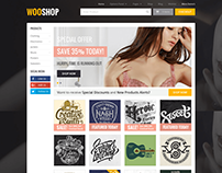 WooShop WordPress Theme for WooCommerce Stores