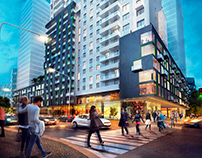 Multifunctional residential complex by AddLine group