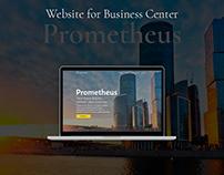 Website for Business Center Prometheus