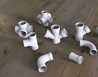 Do any kind of plastic fittings Design and 3D designs.