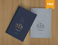 Free Beautiful Hardcover Book Mockup