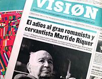 Newspaper/ Periódico: VISION