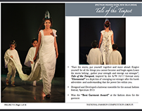 Tale of the Tempest -NIFT SPECTRUM FASHION SHOW 2015
