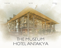 The Museum Hotel Antakya UI Design