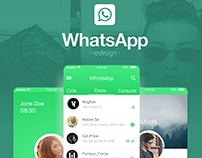WhatsApp UI - Redesign