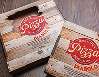Pâte Partout Pizza Packaging