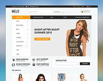 Mello - E-commerce Template