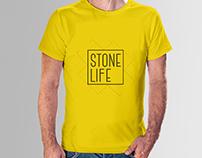 T-Shirt Design | Stone Life | UAE