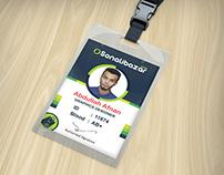 Employee ID card Design 2017