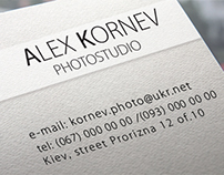 ALEX KORNEV site for studio