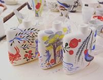 story telling ceramic