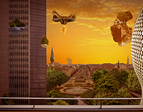 Brussels Matte Painting