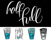 Real-World Logo Design Collaboration: Half Full