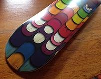 Infectious.com Skate Deck