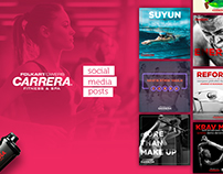 Carrera Fitness & Spa | Social Media Posts