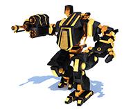 3D Mech-Robot Model